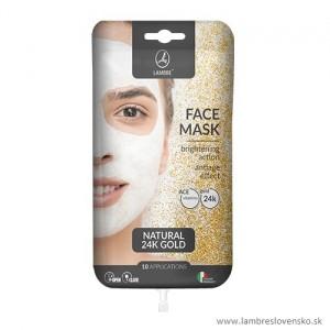 Maska s prírodným 24 karátovým zlatom 15 ml