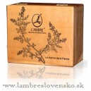 Dóza na parfumy prázdna - drevo od Lambre