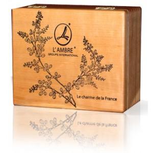 Dóza na parfémy prázdna-drevo