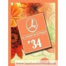 Parfum Lambre č.34 ako Dalissime - Salvador Dali - logo