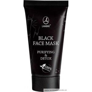 DETOXIKAČNÁ A ZMATŇUJÚCA  BLACK FACE MASKA  40 ml