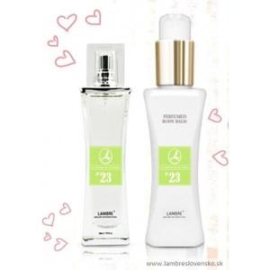 Darčeková sada č. 23: 50 ml parfum + telový balzam 120 ml