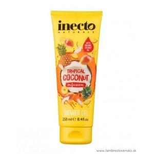 Sprchový gél Inecto Pure Coconut & tropické ovocie 250ml