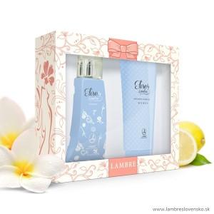 Darčeková sada Elise 75 ml parfum + sprchový gél 150 ml