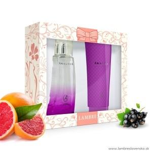 Darčeková sada Amaltea 75 ml parfum + sprchový gél 150 ml