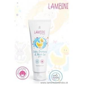 Sprchový gél & šampón pre deti 2 v 1 150 ml